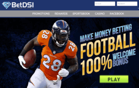 BetDSI sportsbook screenshot